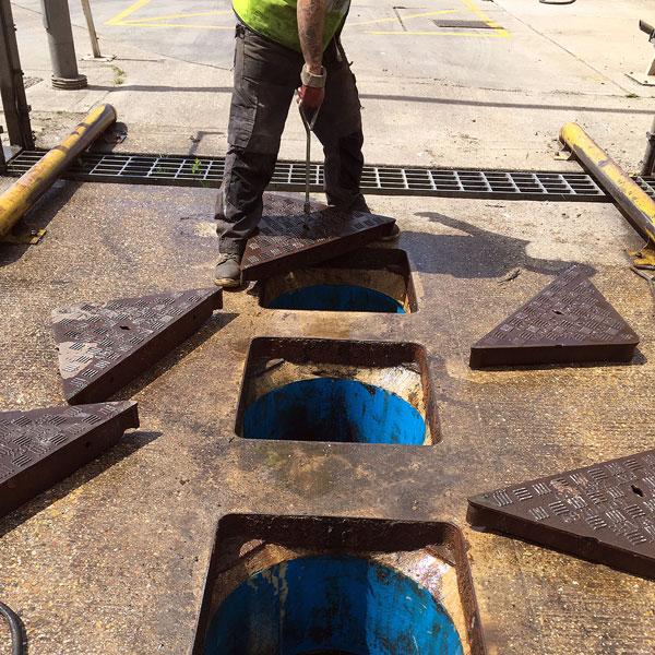 waste water solutions manhole maintenance